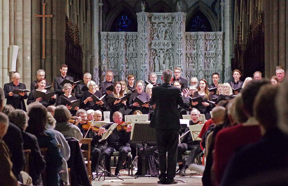 st marys singers sing the st john passion