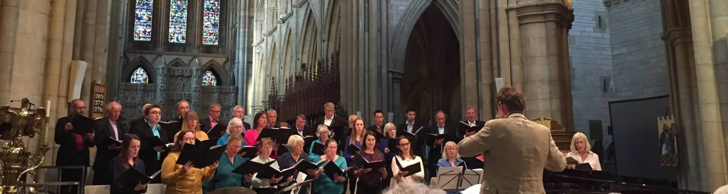st mary's singers voluntary choir of truro cathedral in concert