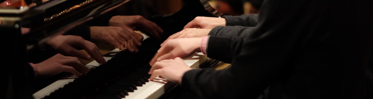 pianists with st mary's singers, voluntary choir of truro cathedral