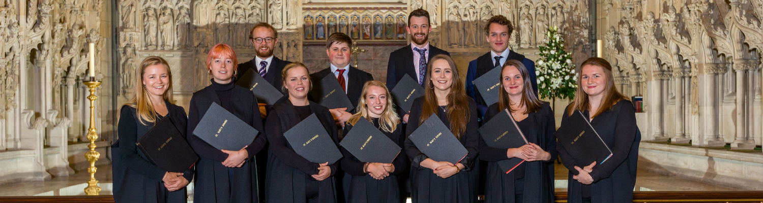 Young singer scholarships with St Mary's Singers